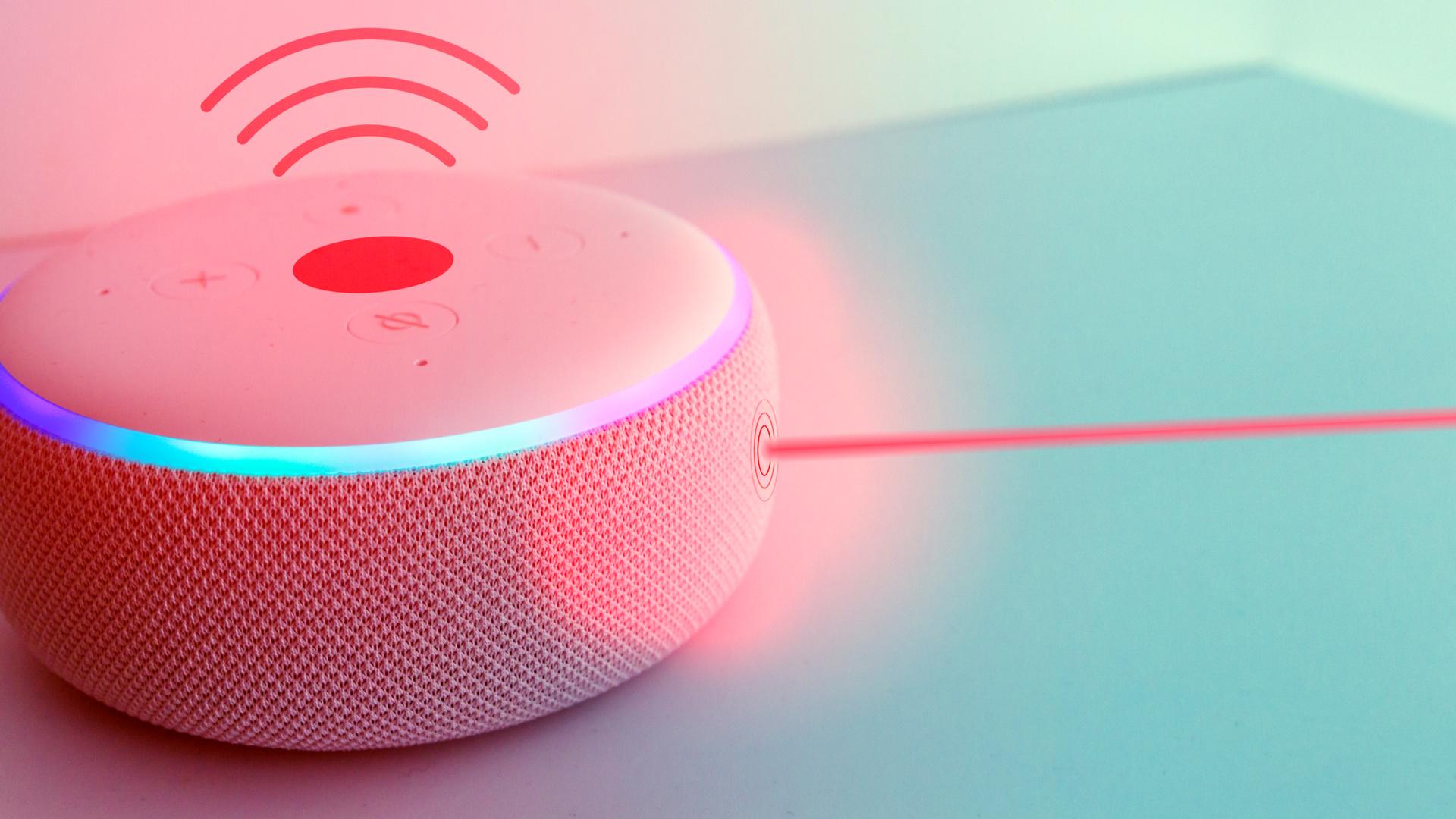 """As duas smart speakers contam com quatro microfones de longo alcance e um alto-falante de 16"""" (Imagem: Shutterstock/Panthere Noire)."""