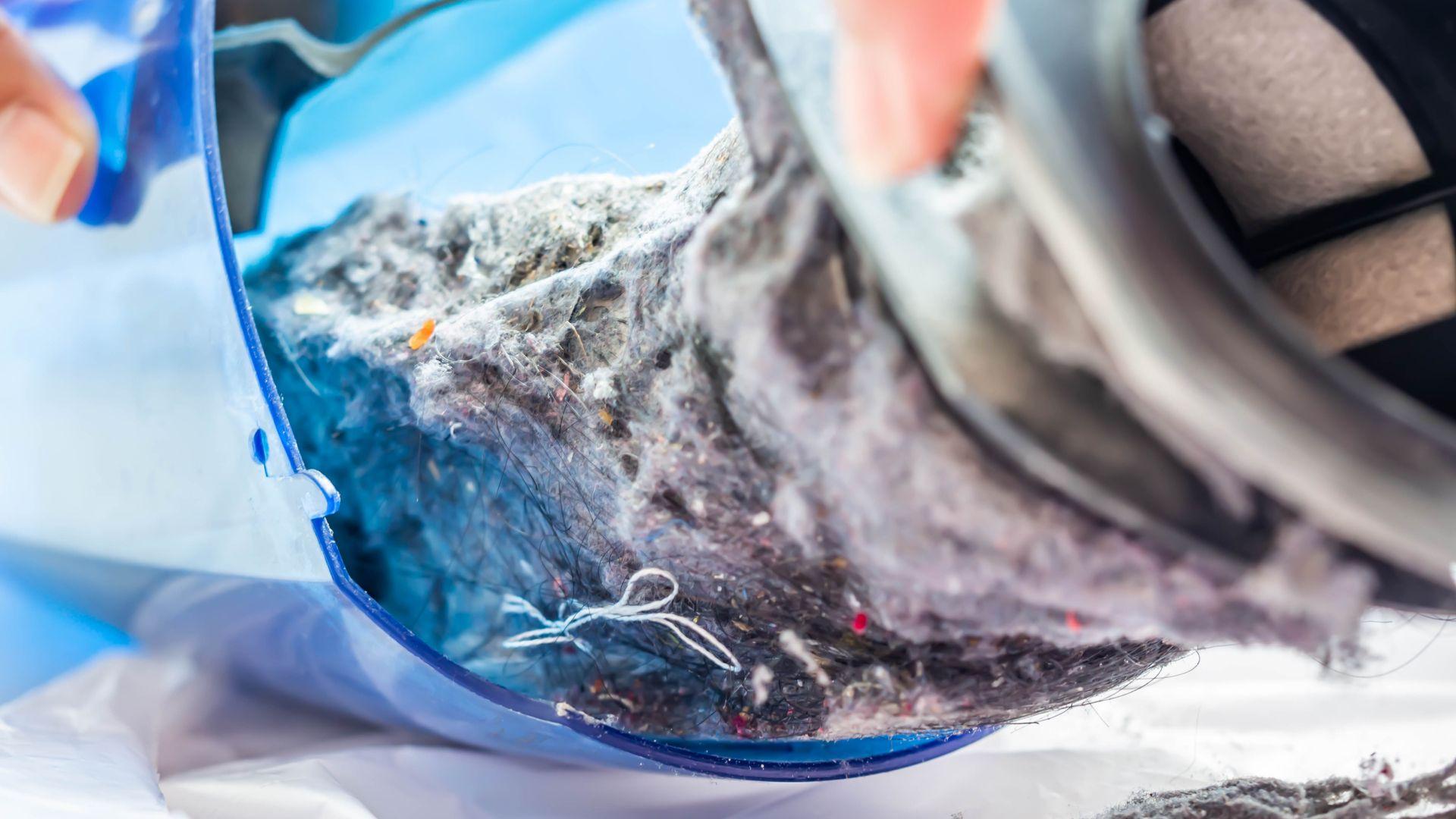 Reservatórios de aspiradores que não usam sacos coletores podem ser lavados com água corrente (Imagem: Shutterstock/Pen Kanya)