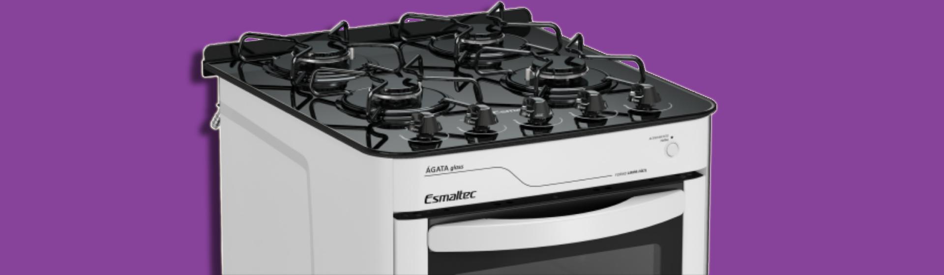 Fogão Ágata Glass: análise de ficha técnica e preço dos modelos Esmaltec