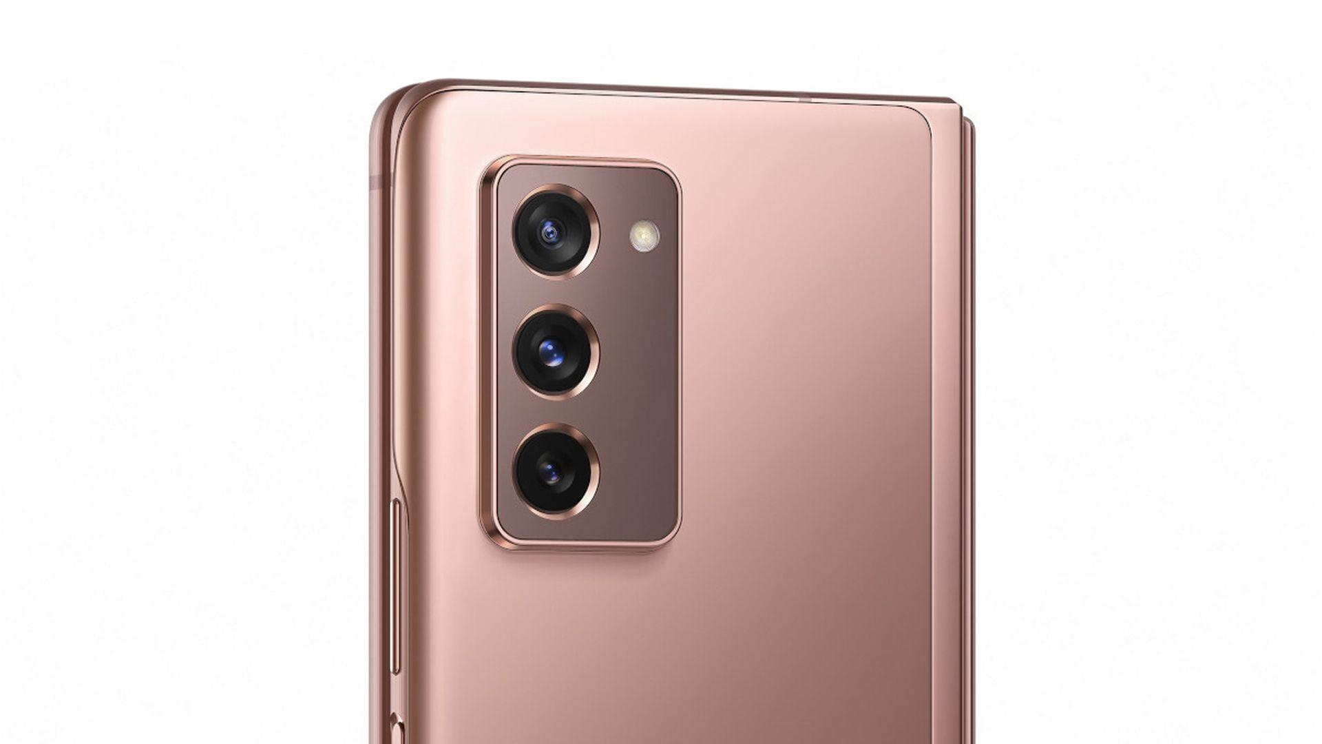 Câmeras do Samsung Galaxy Z Fold 2 não inova. (Foto: Divulgação/Samsung)