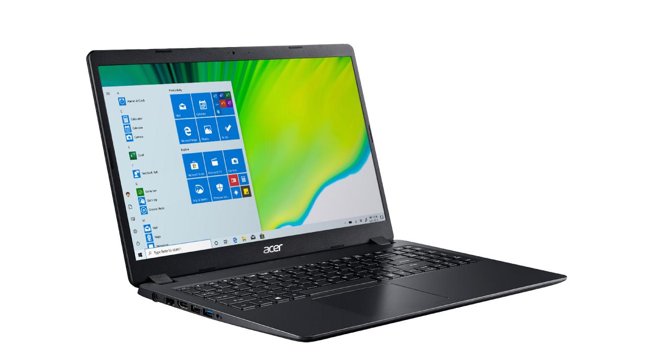 Aspire 3 é voltado para produtividade e oferece até 12 GB de RAM. (Foto: Divulgação/Acer)