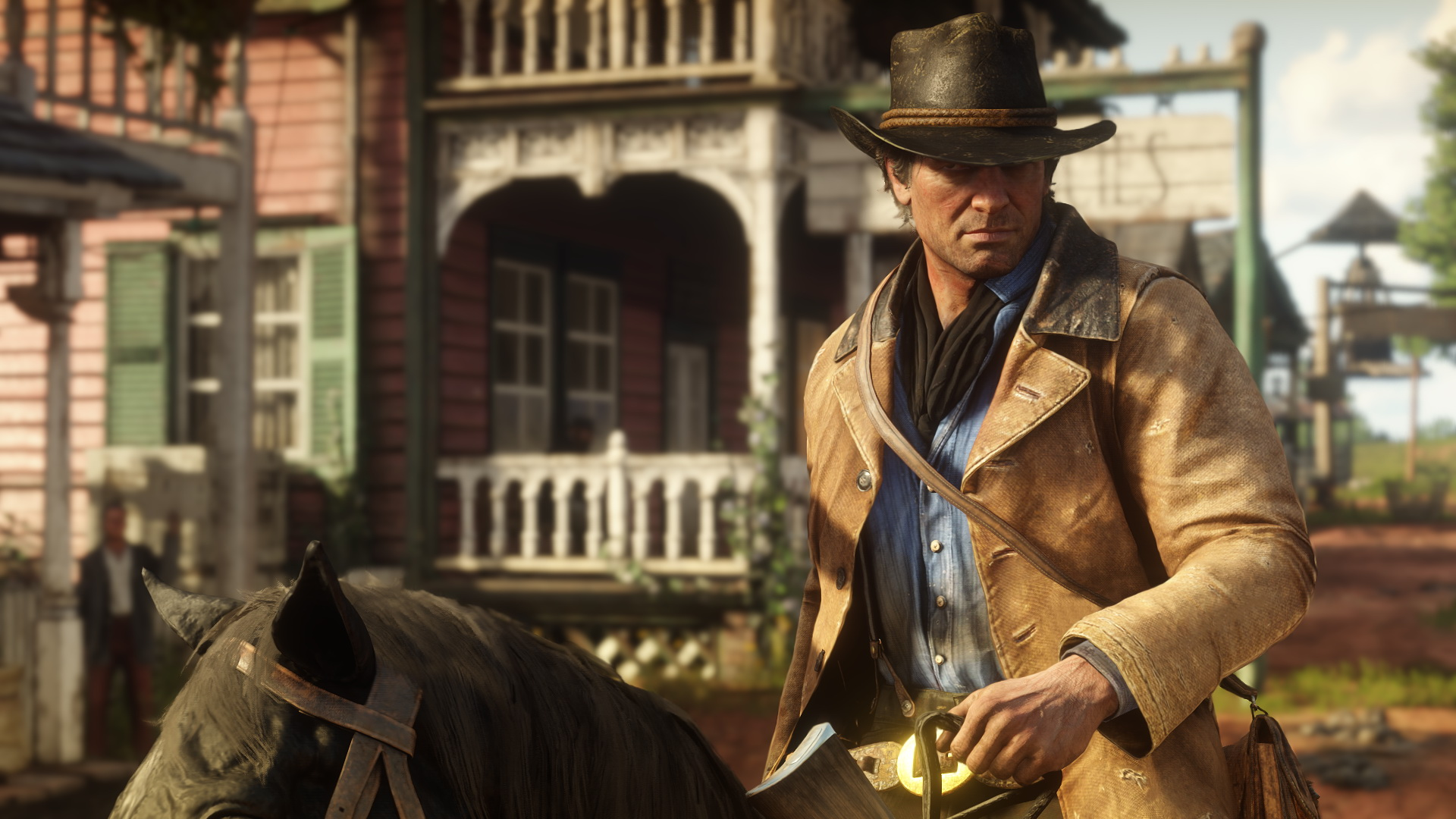 """Read Dead Redemption é um dos jogos de maior sucesso dessa geração (Foto: Divulgação/Rockstar Games)<span class=""""-mobiledoc-kit__atom""""></span>"""