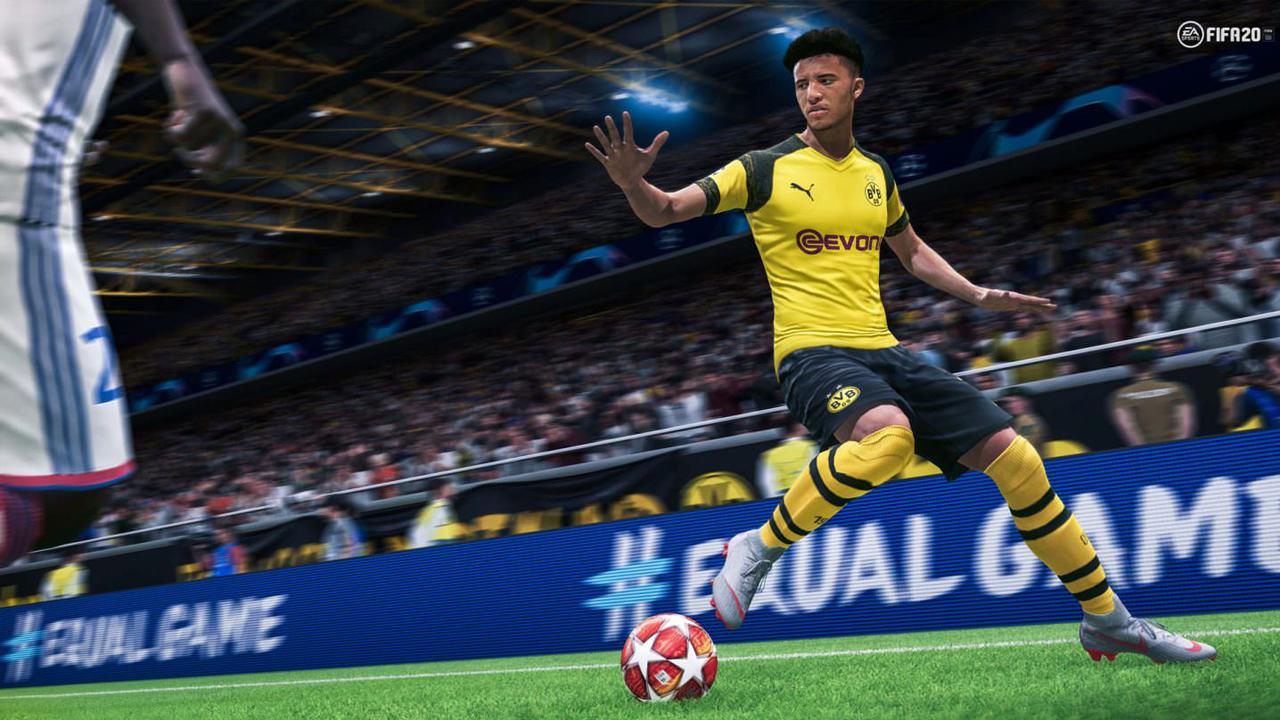 FIFA 20 possui novidades na jogabilidade e novos modos de jogo. (Foto: Divulgação/Electronic Arts)