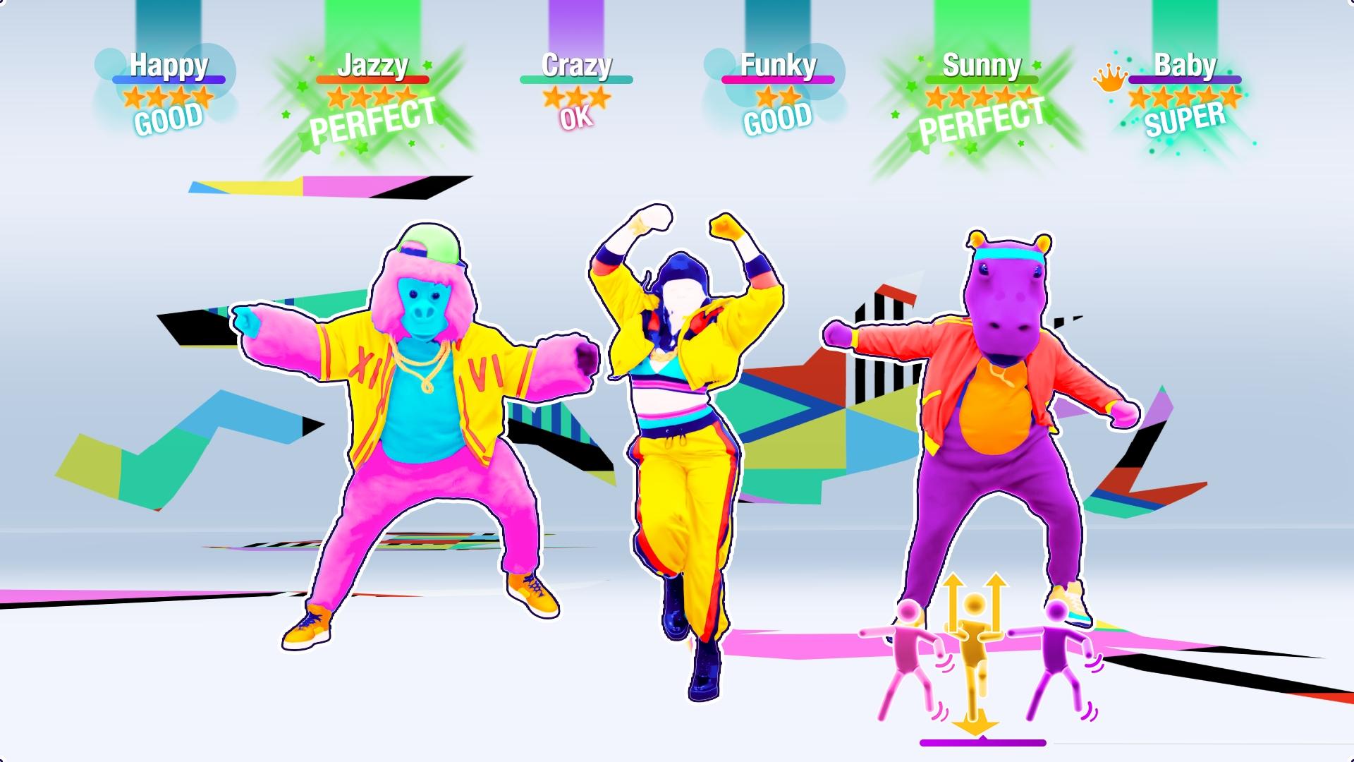 Just Dance 2020 conta com 40 músicas diferentes de artistas nacionais e internacionais. (Foto: Divulgação/Ubisoft)