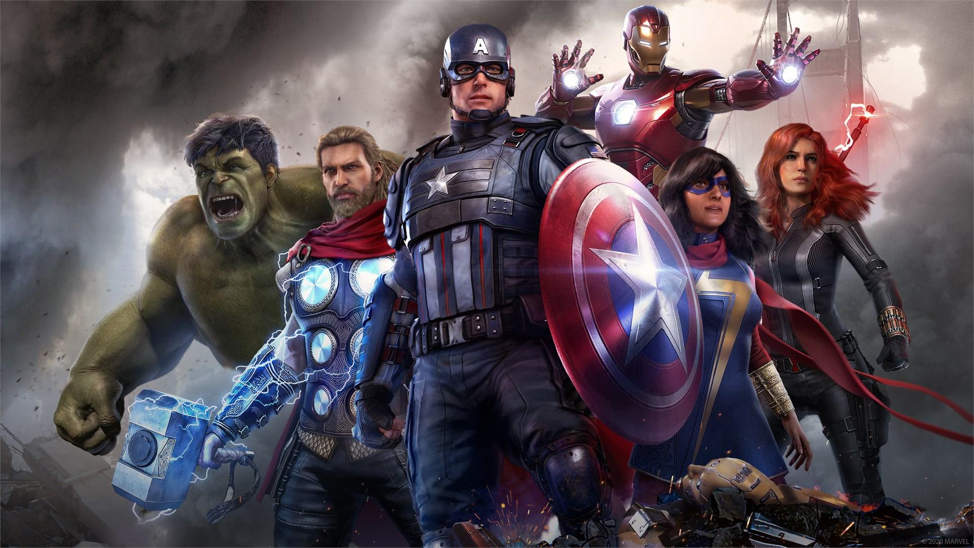 Marvel's Avengers tem data de lançamento marcada para 4 de setembro de 2020 no PS4, Xbox One e PC. (Foto: Divulgação/Square Enix)