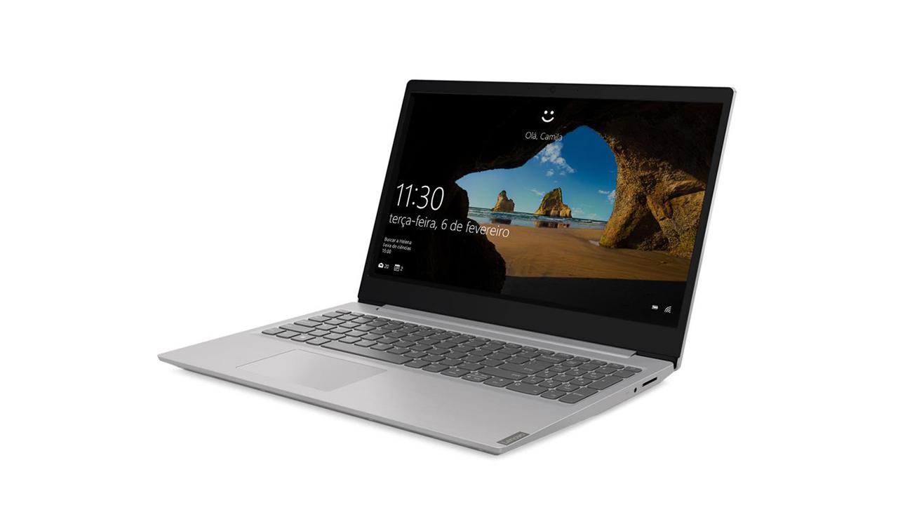 Lenovo IdeaPad S145 possui tela em resolução HD. (Foto: Divulgação/Lenovo)