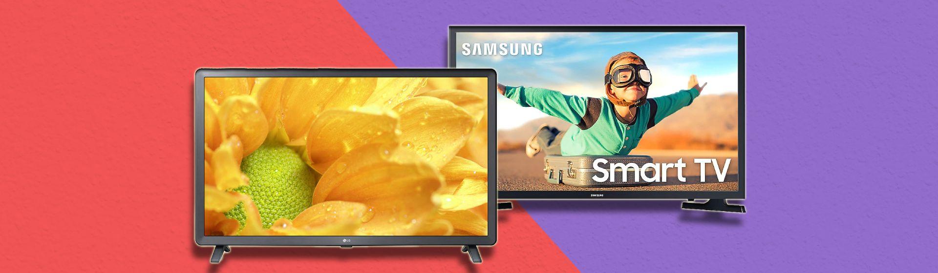 """LG LM625BPSB vs Samsung T4300: confira as diferenças entre essas TVs de 32"""""""