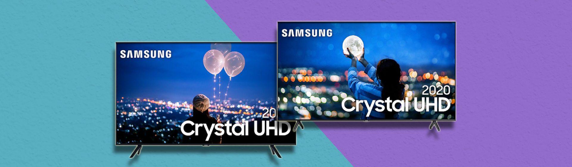 TV Samsung TU8000 vs TU7000: quais as diferenças entre esses dois modelos 2020?