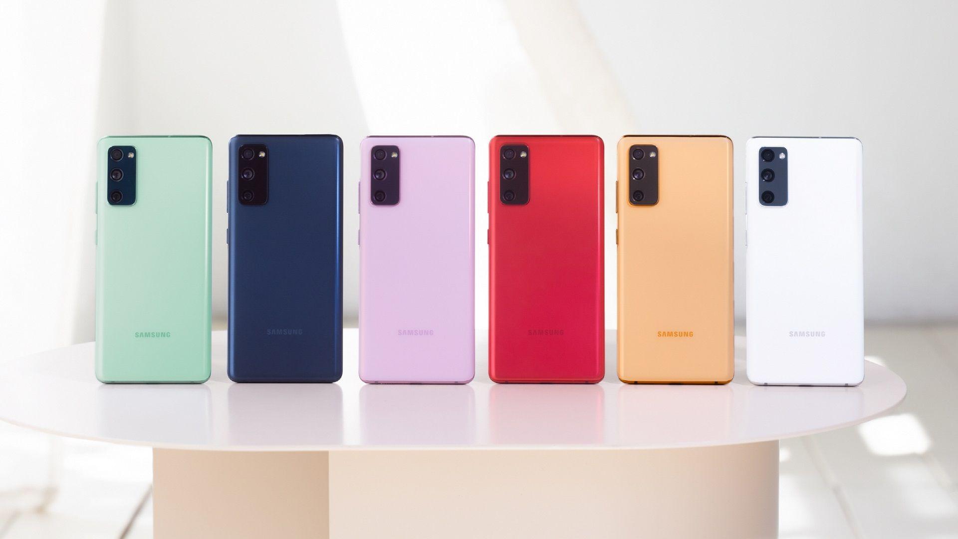 Cores do novo Galaxy S20 FE (Foto: Divulgação/Samsung)