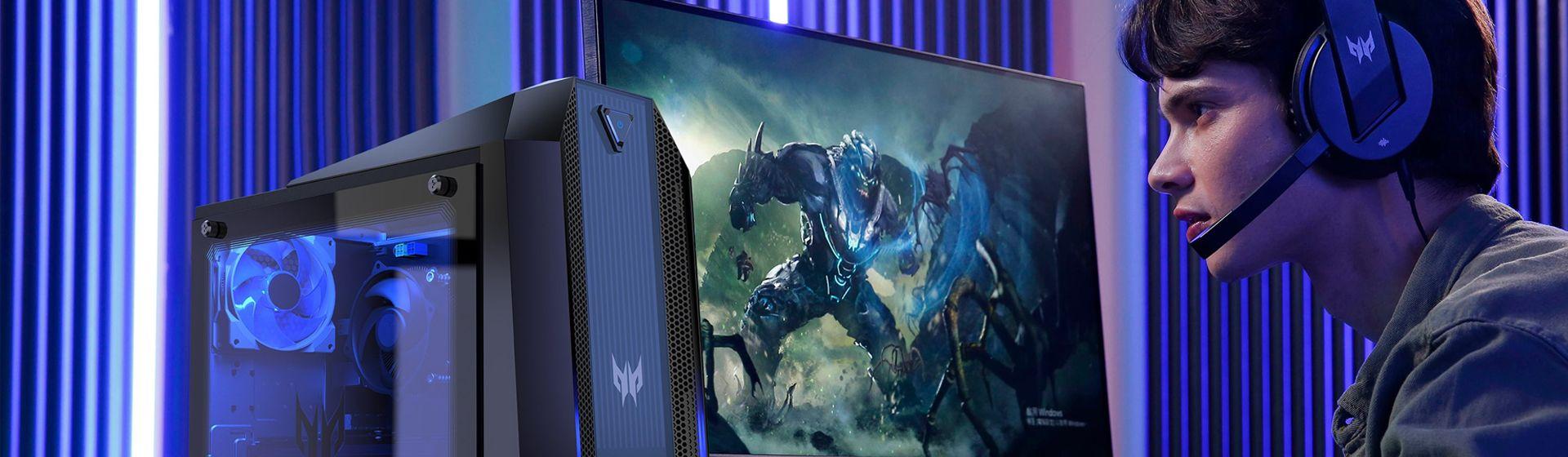 Acer lança monitores gamer de até 240Hz das linhas Nitro e Predator