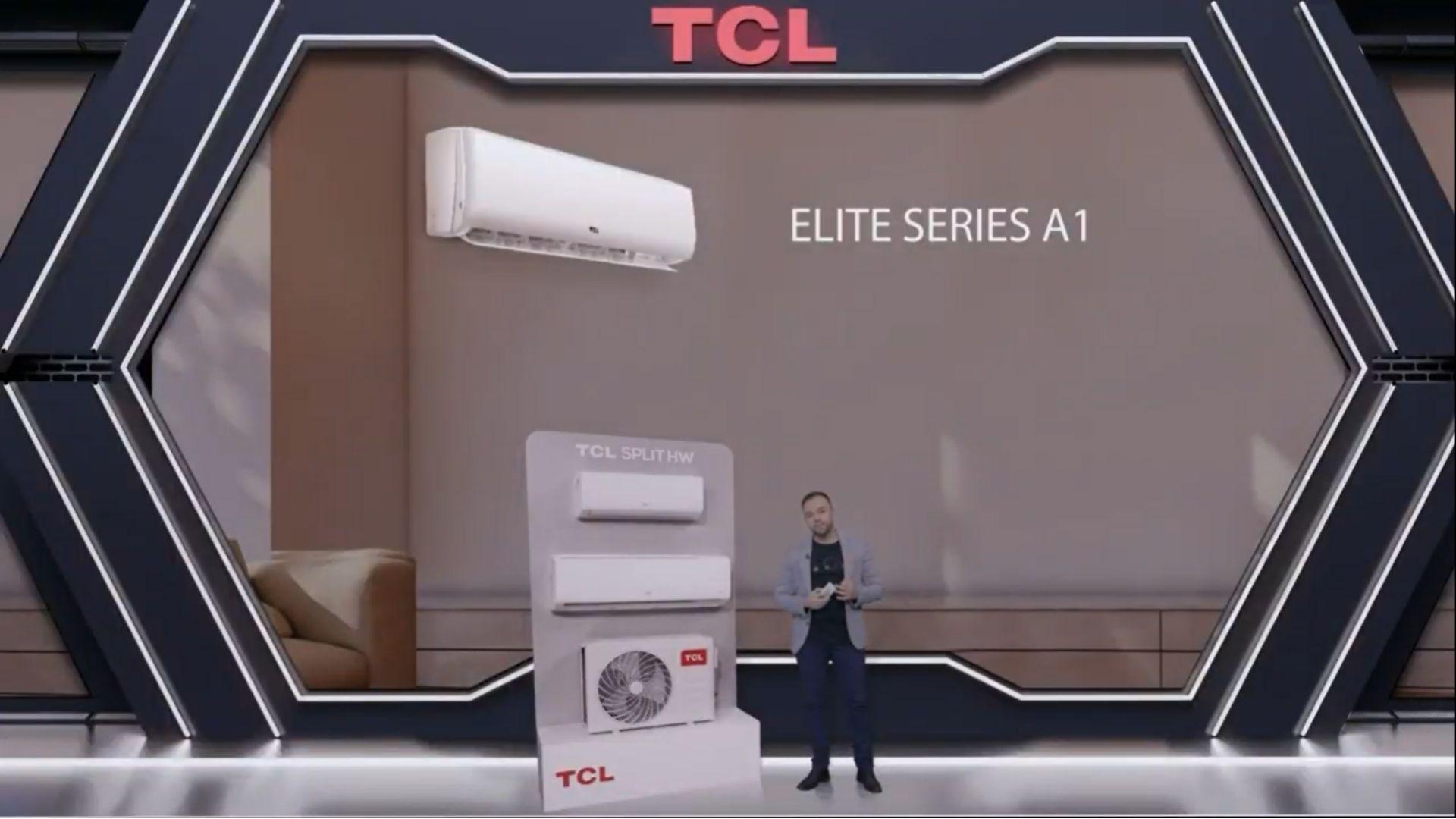 Linha Elite é a nova série de aparelhos de ar condicionado da TCL. (Imagem: Reprodução/TCL)
