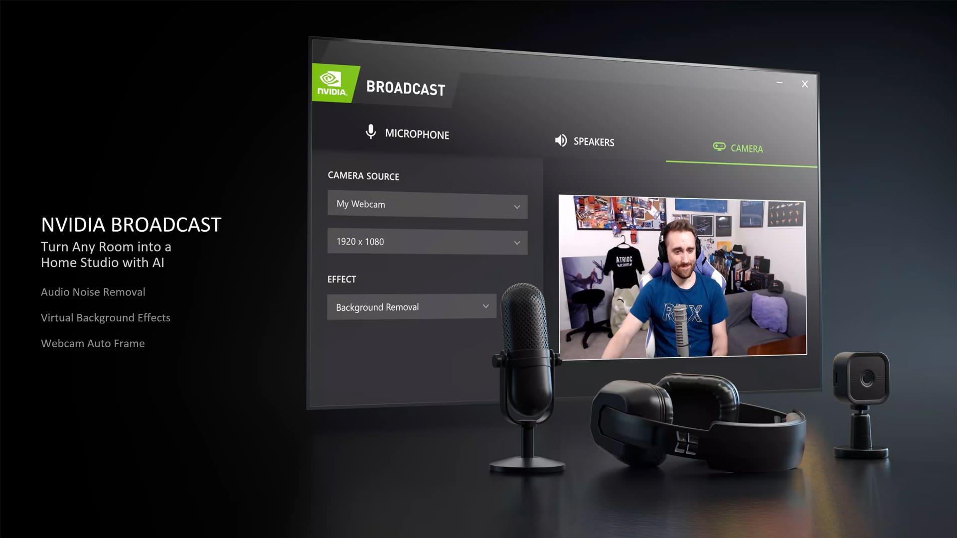 NVIDIA Broadcast é um novo recurso da fabricante (Foto: Divulgação/NVIDIA)