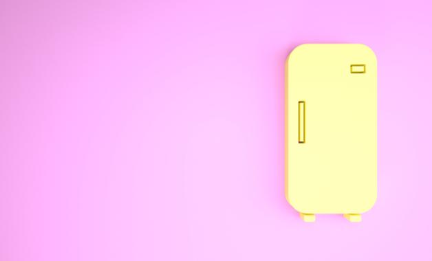 Geladeiras de 1 porta mantém o congelador na parte interna. (Imagem: Reprodução/Shutterstock)