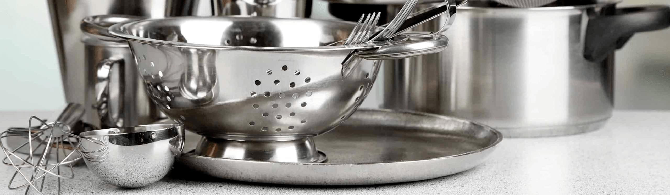 Como limpar produtos em aço inox?