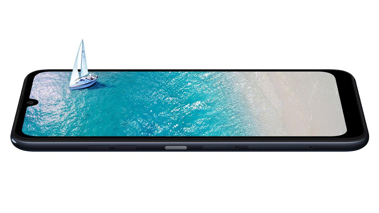"""Tela """"Full Vision"""" do LG K40S (Foto: Divulgação/LG)"""