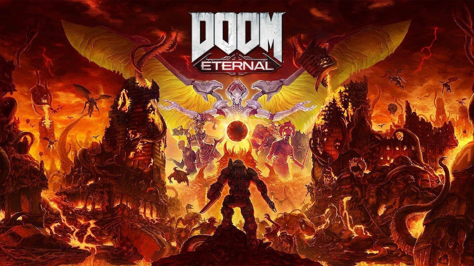 Doom Eternal foi lançado em 2020 pela Bethesda. (Foto: Divulgação/Bethesda)