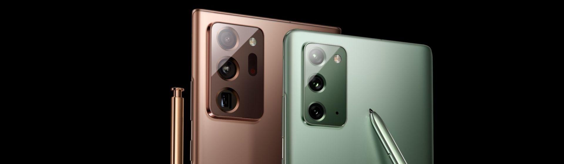 Galaxy Note 20 vs Note 20 Ultra: o que muda nos celulares Samsung?