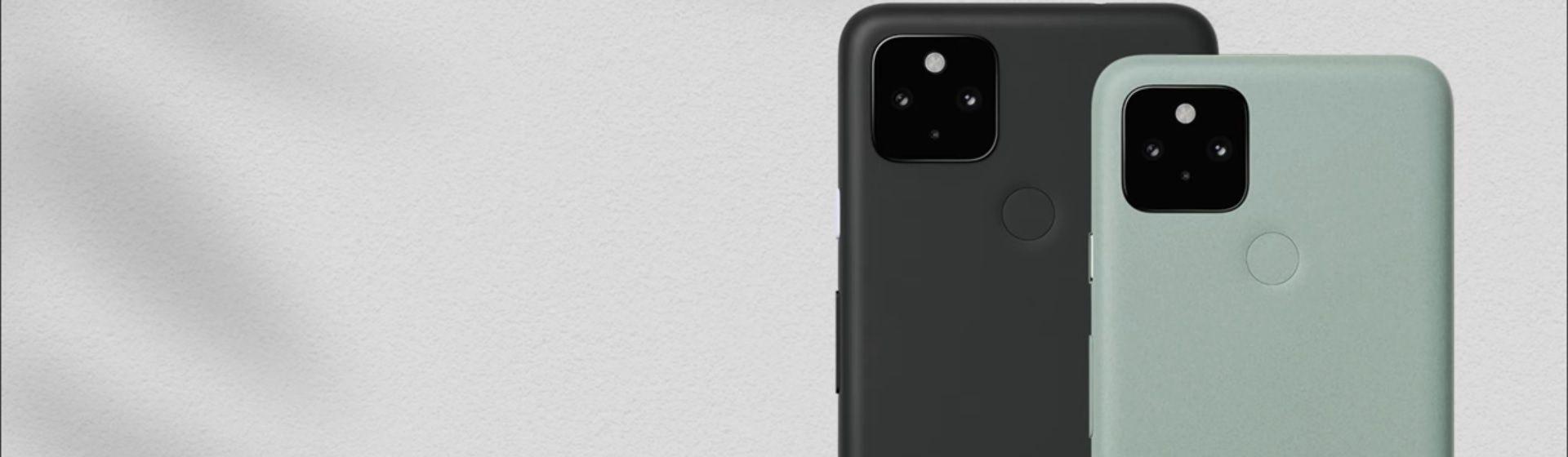 Google anuncia Pixel 4a 5G e Pixel 5