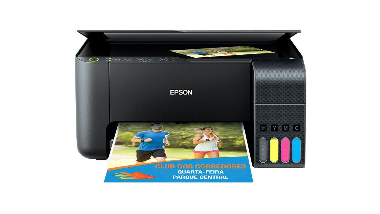 Ecotank L3150 é um modelo bem simples que garante economia de tinta. (Foto: Divulgação/Epson)
