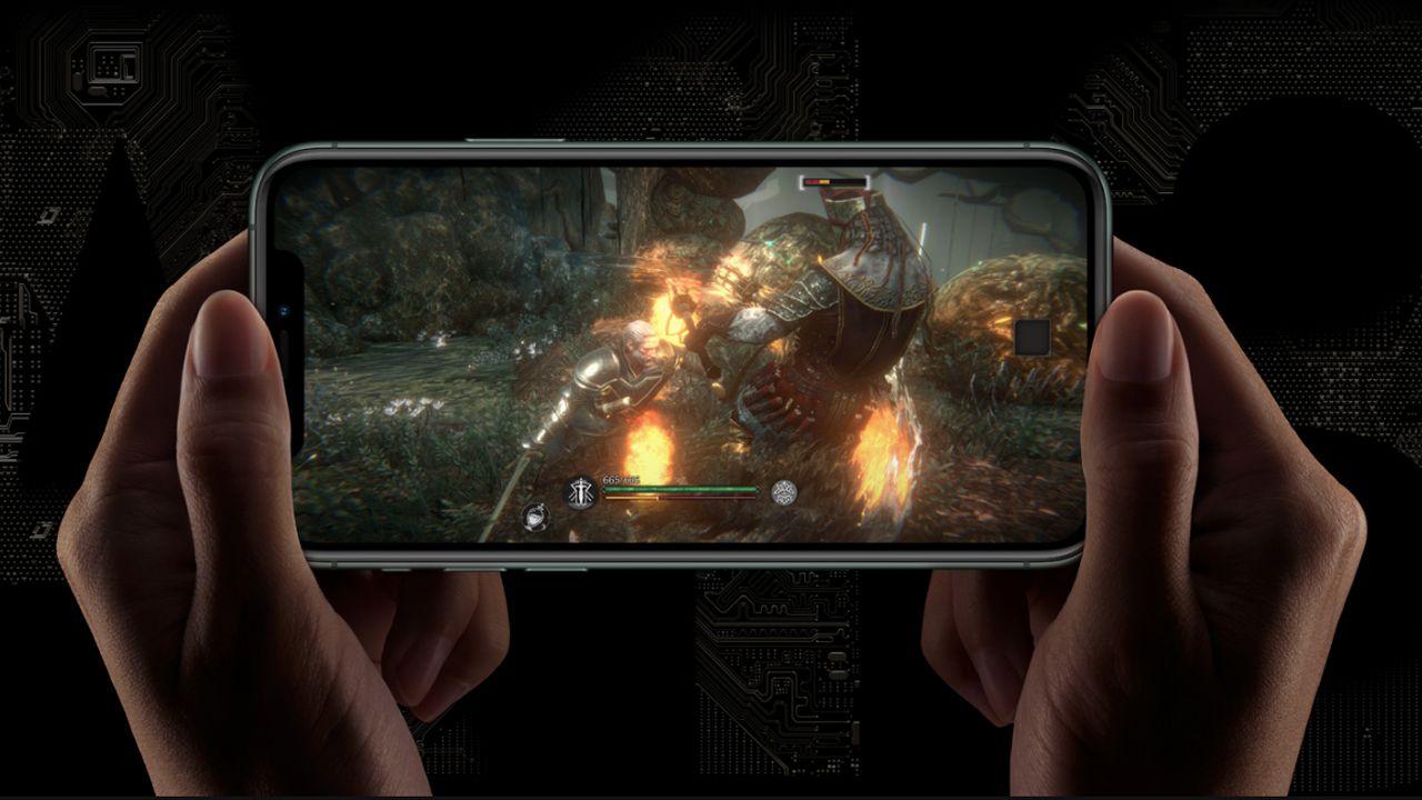 O iPhone 11 Pro Max oferece um ótimo desempenho em jogos (Foto: Divulgação/Apple)