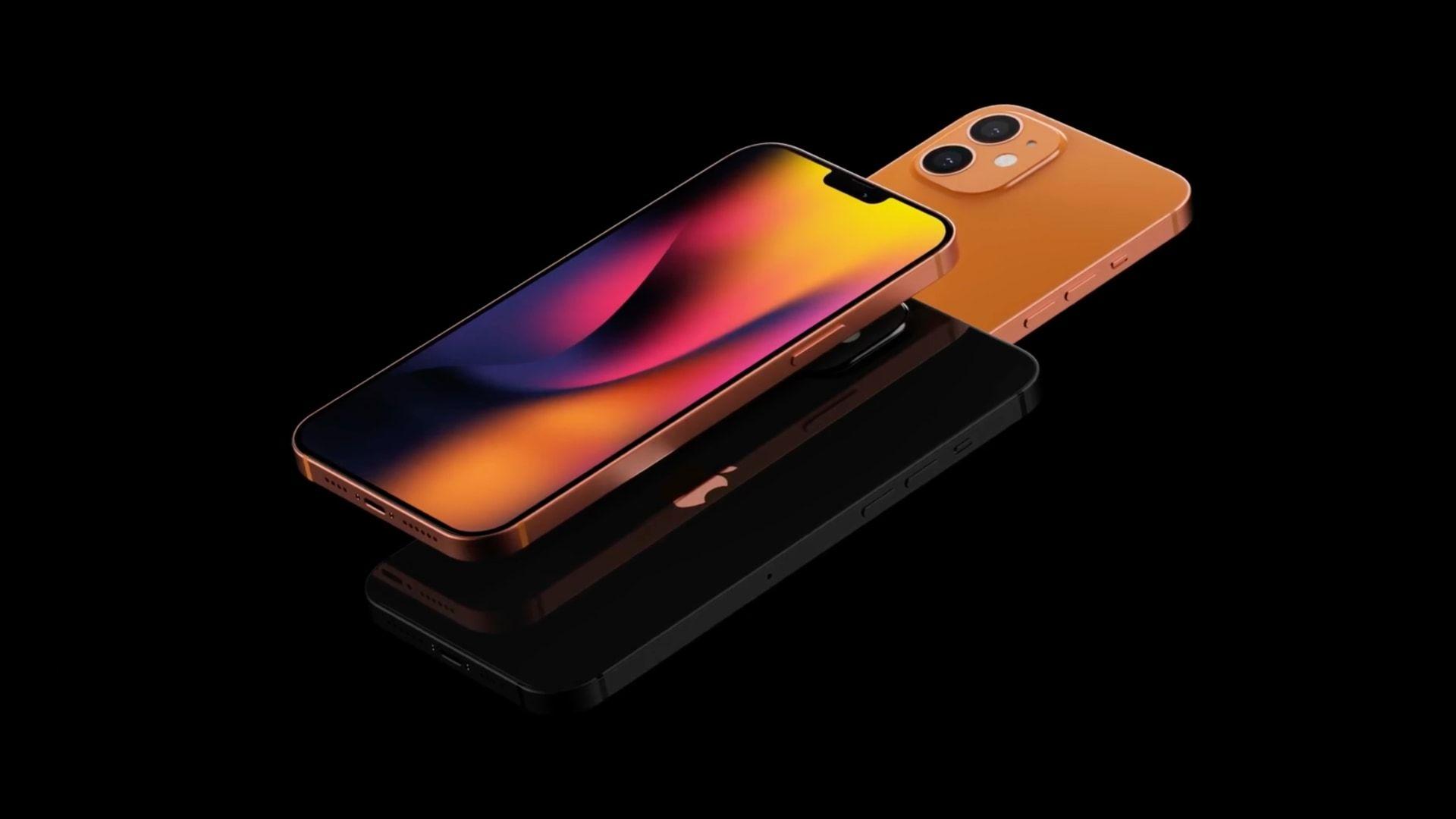 Provável design do iPhone 12 Mini terá tela infinita e câmera dupla (Foto: Reprodução/AppleTrack)