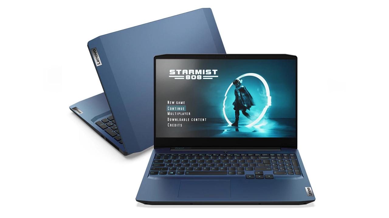 IdeaPad Gaming i3 é o novo notebook gamer da Lenovo (Foto: Divulgação/Lenovo)