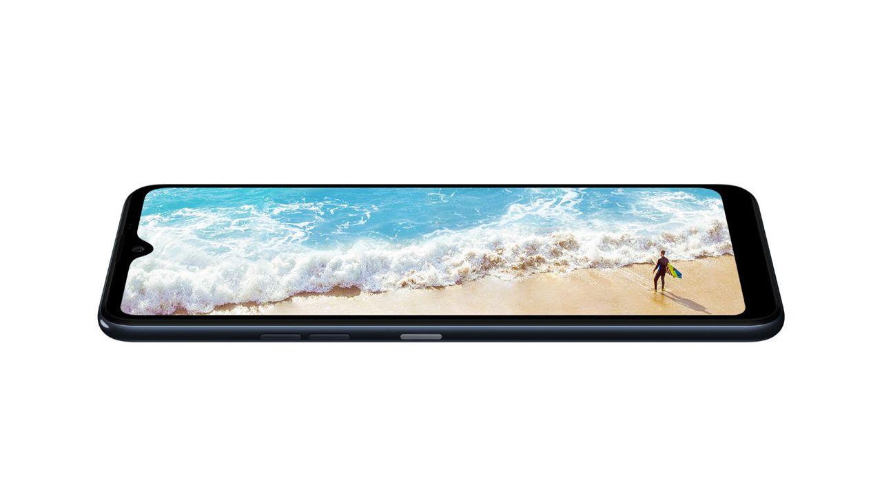 O LG K50S tem tela Full Vision HD+ (Foto: Divulgação/LG)