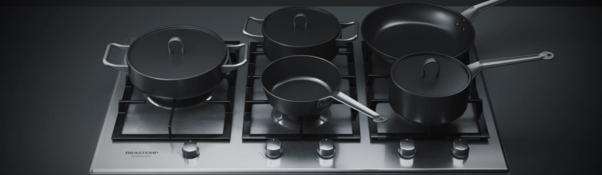 Cooktop Brastemp: veja os melhores modelos de 5 e 4 bocas