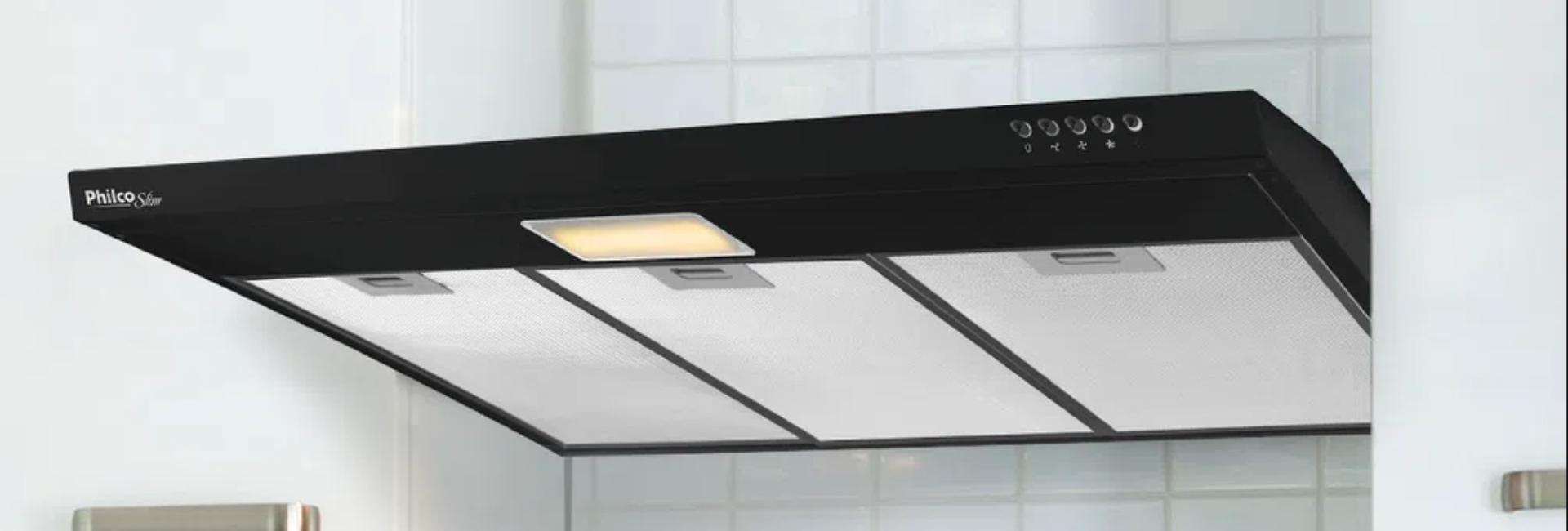 Depurador de Ar Preto: os melhores modelos de 60, 80 e 90 cm