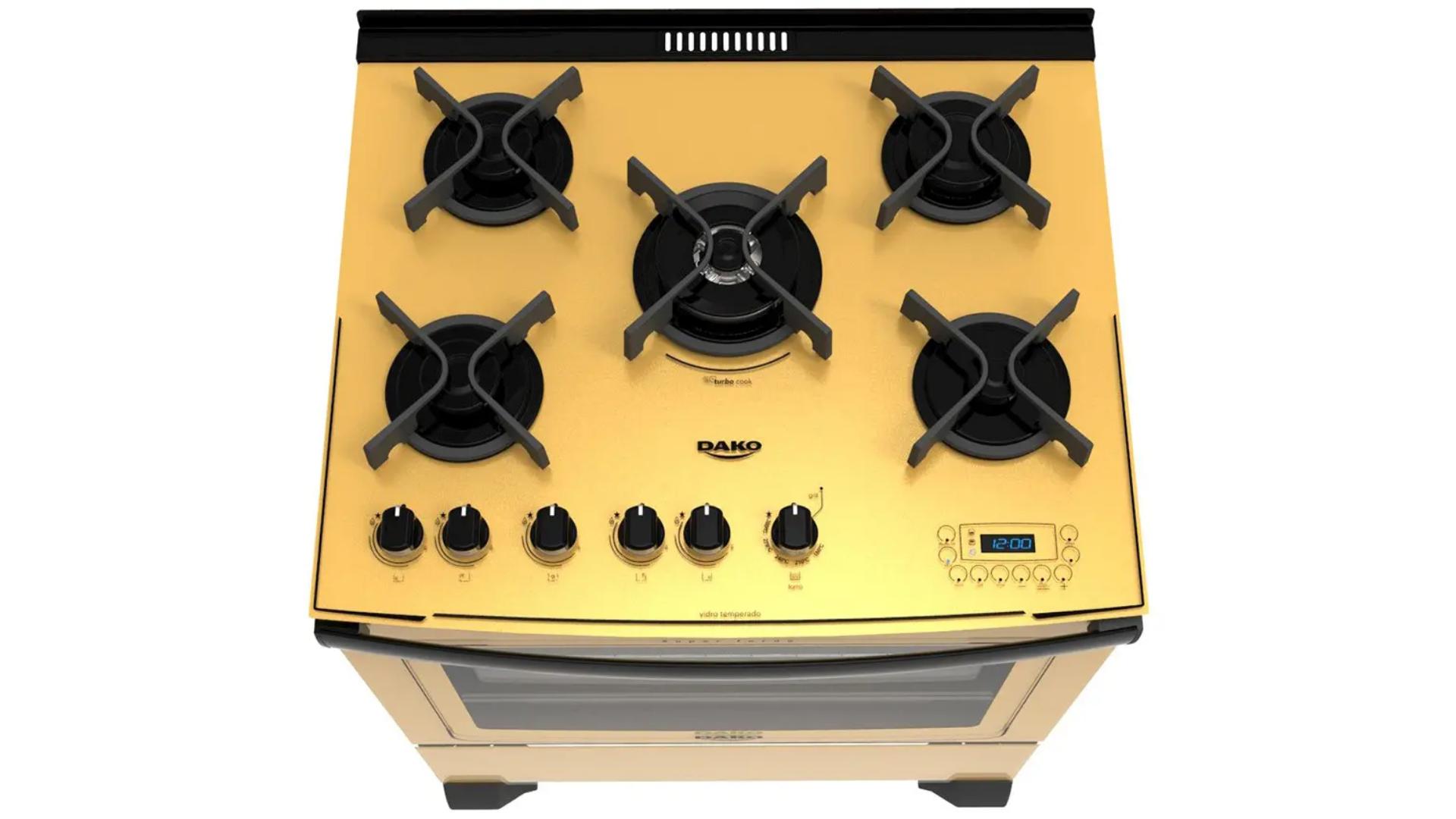 Confira os melhores modelos de fogão da Dako! (Imagem: Divulgação/Dako)