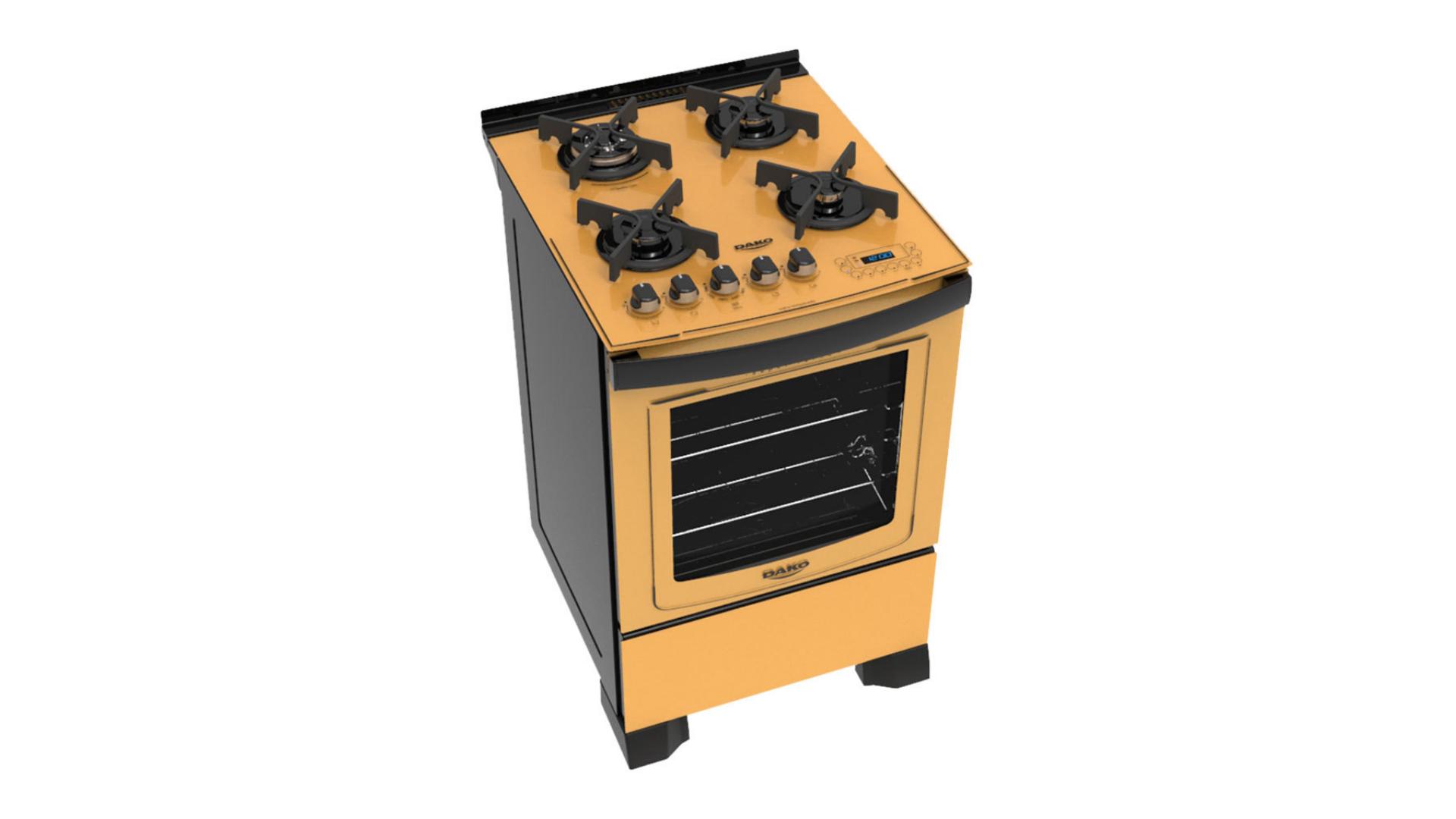 Veja a nossa lista com os melhores fogões da Dako de 4 bocas! (Imagem: Divulgação/Dako)