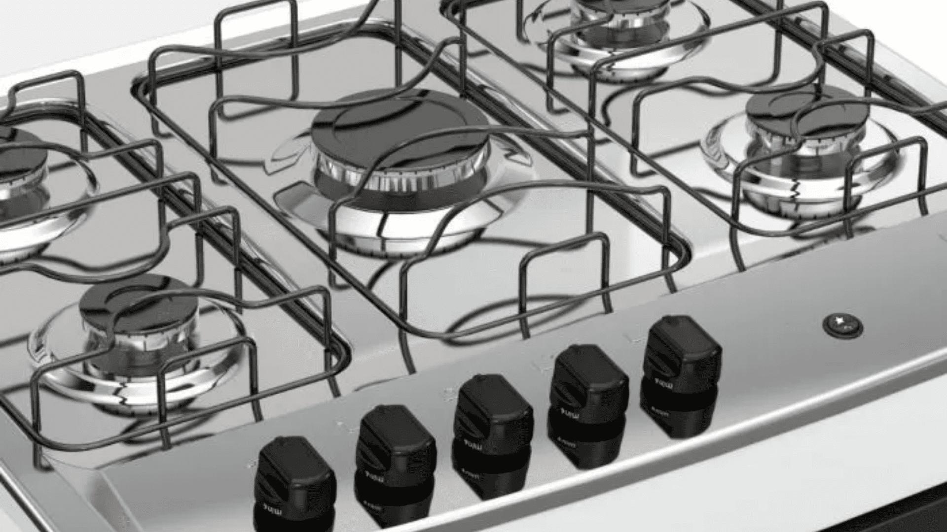 Confira as melhores opções de fogões da Dako de 5 bocas! (Imagem: Divulgação/Dako)