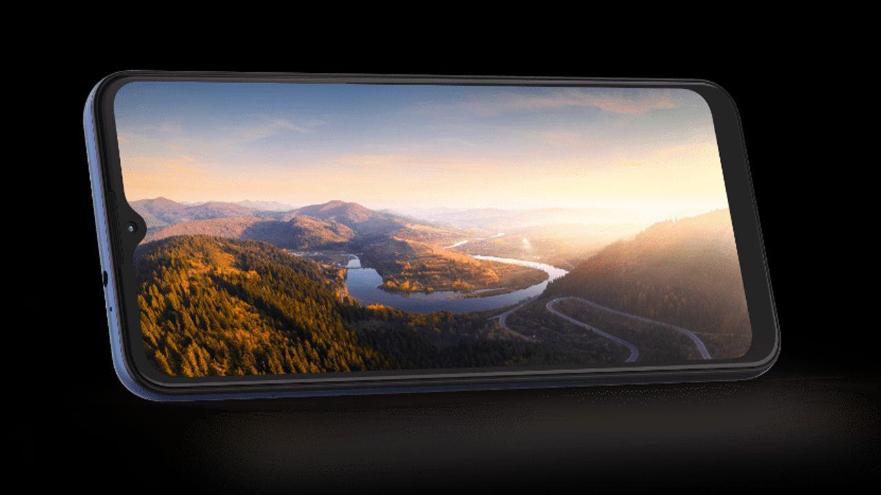 Tela do Moto E7 Plus (Foto: Divulgação/Motorola)