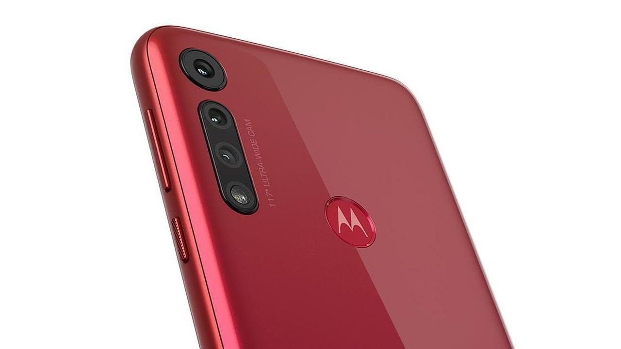 A câmera tripla é um diferencial do Moto G8 Play (Foto: Divulgação/Motorola)
