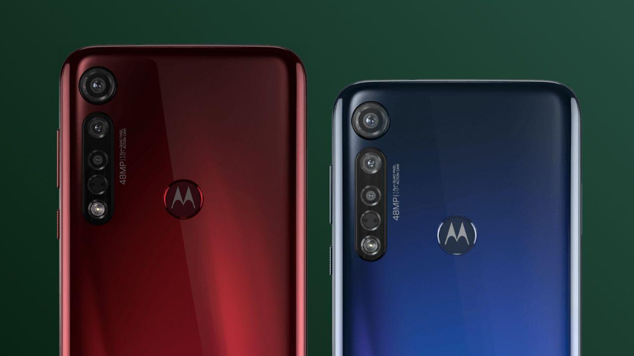 Conjunto de câmeras do Moto G8 Plus (Foto: Divulgação/Motorola)
