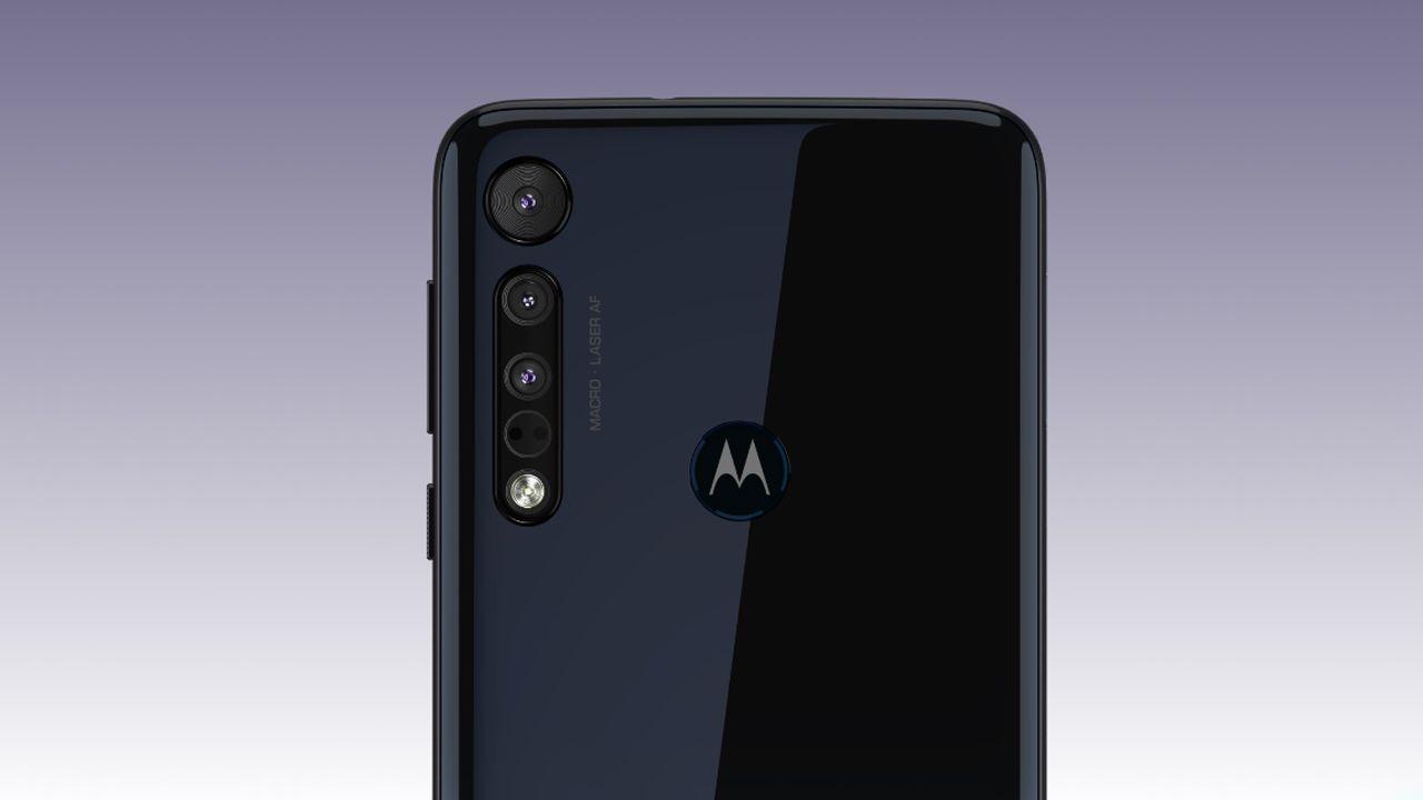 Conjunto de câmeras do Motorola One Macro (Foto: Divulgação/Motorola)