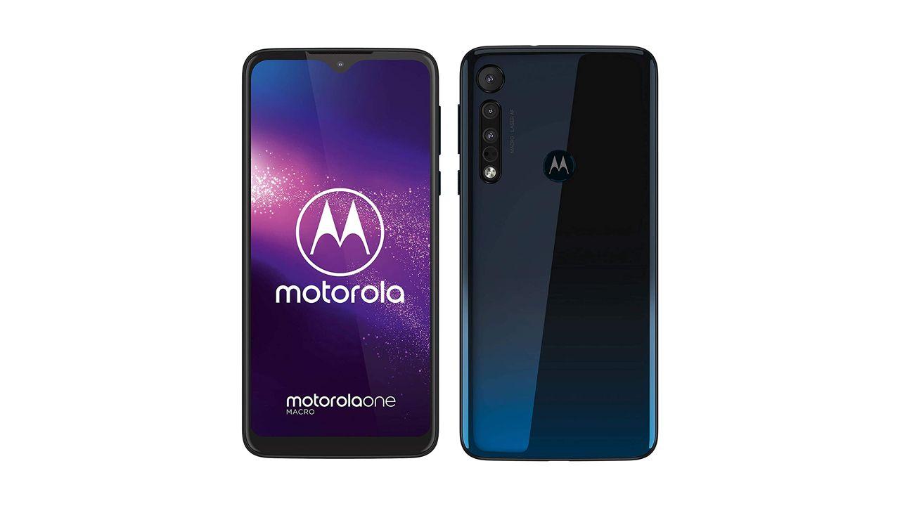 Design do Motorola One Macro (Foto: Divulgação/Motorola)