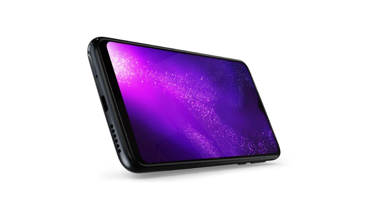 O Motorola One Macro possui tela com resolução HD+ (Foto: Divulgação/Motorola)