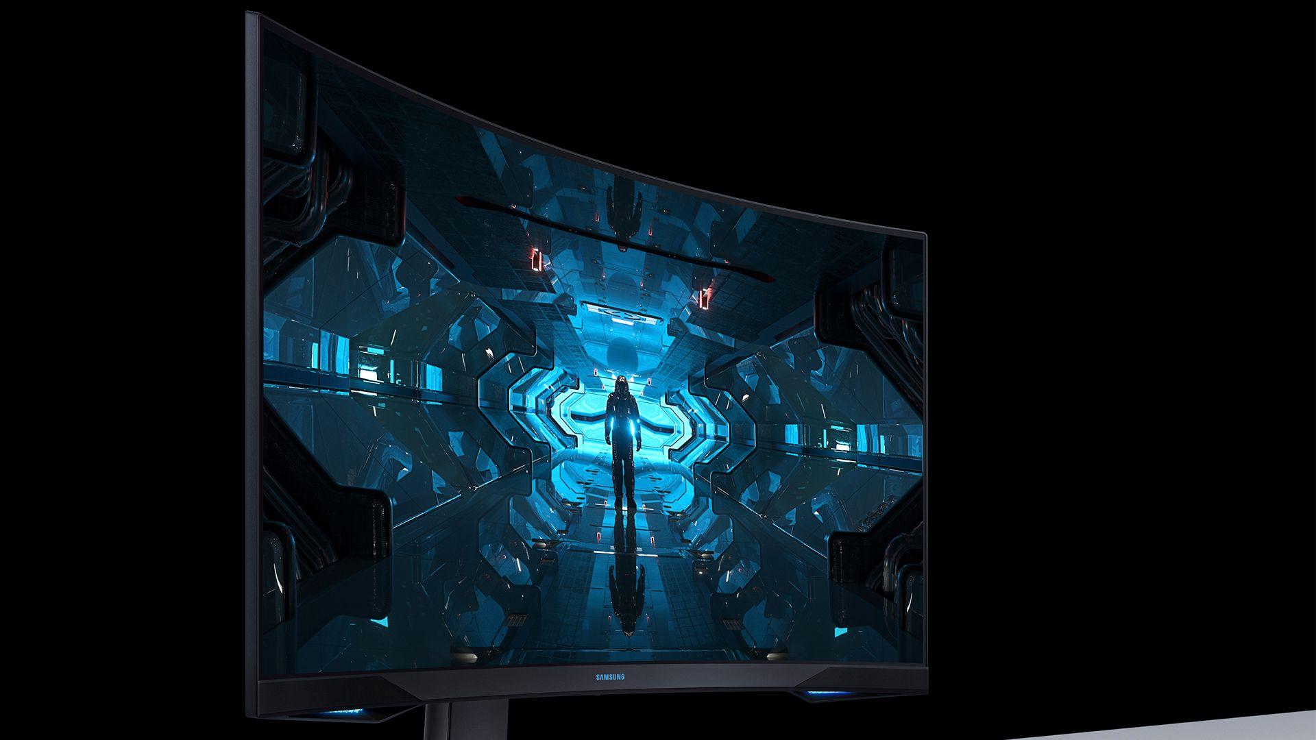 Samsung Odyssey G7. (Foto: Divulgação/Samsung)