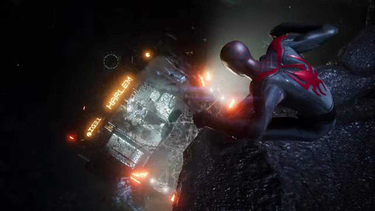 Spider-man Miles Morales chega no lançamento do PS5. (Foto: Reprodução/Murilo Tunholi)