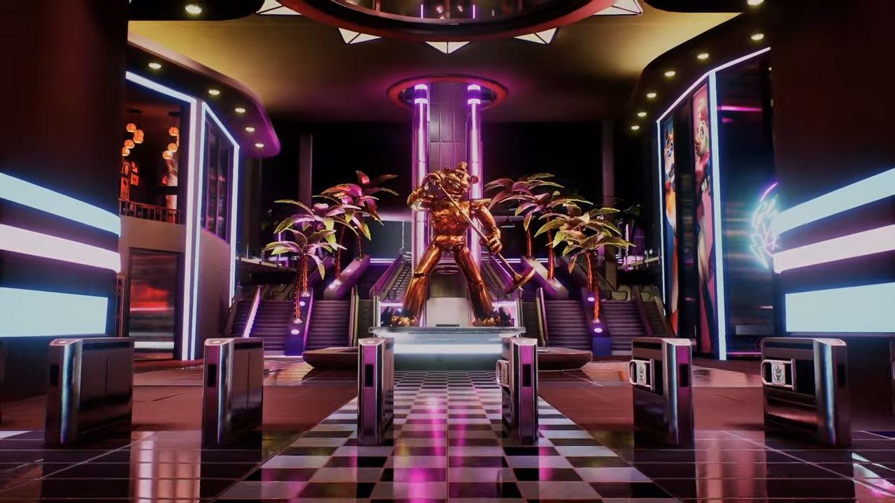 Five Nights At Freddy's Security Breach é o novo jogo da série de terror. (Foto: Reprodução/Murilo Tunholi)