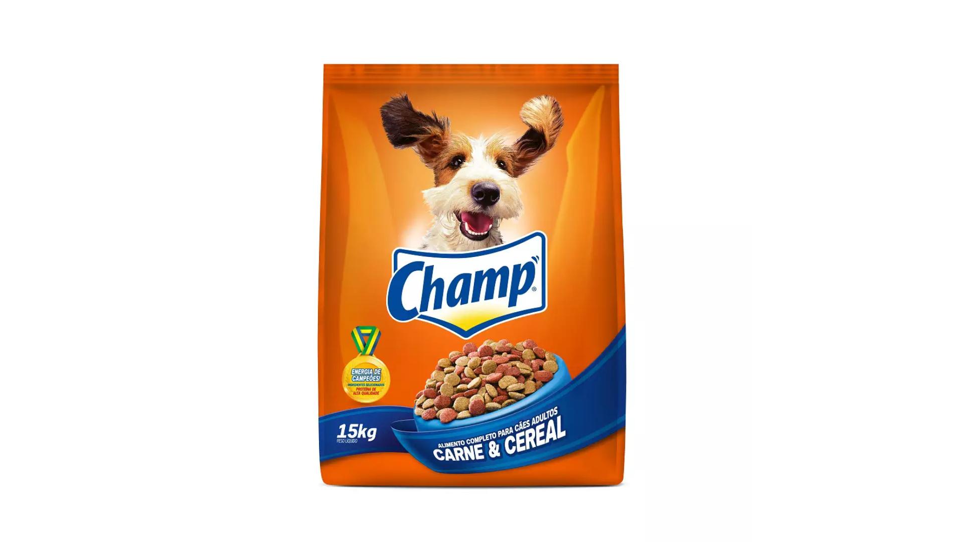 A ração Champ é do tipo Standard (Divulgação/MARS)