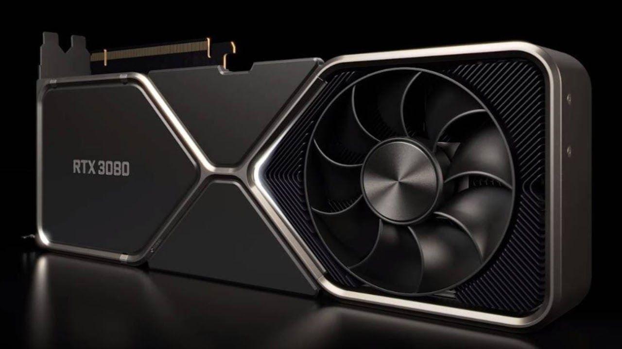 Design da RTX 3080. (Foto: Divulgação/NVIDIA)