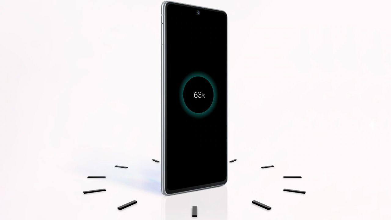 O Galaxy S10 Lite carrega quase completamente em 30 minutos (Foto: Divulgação/Samsung)
