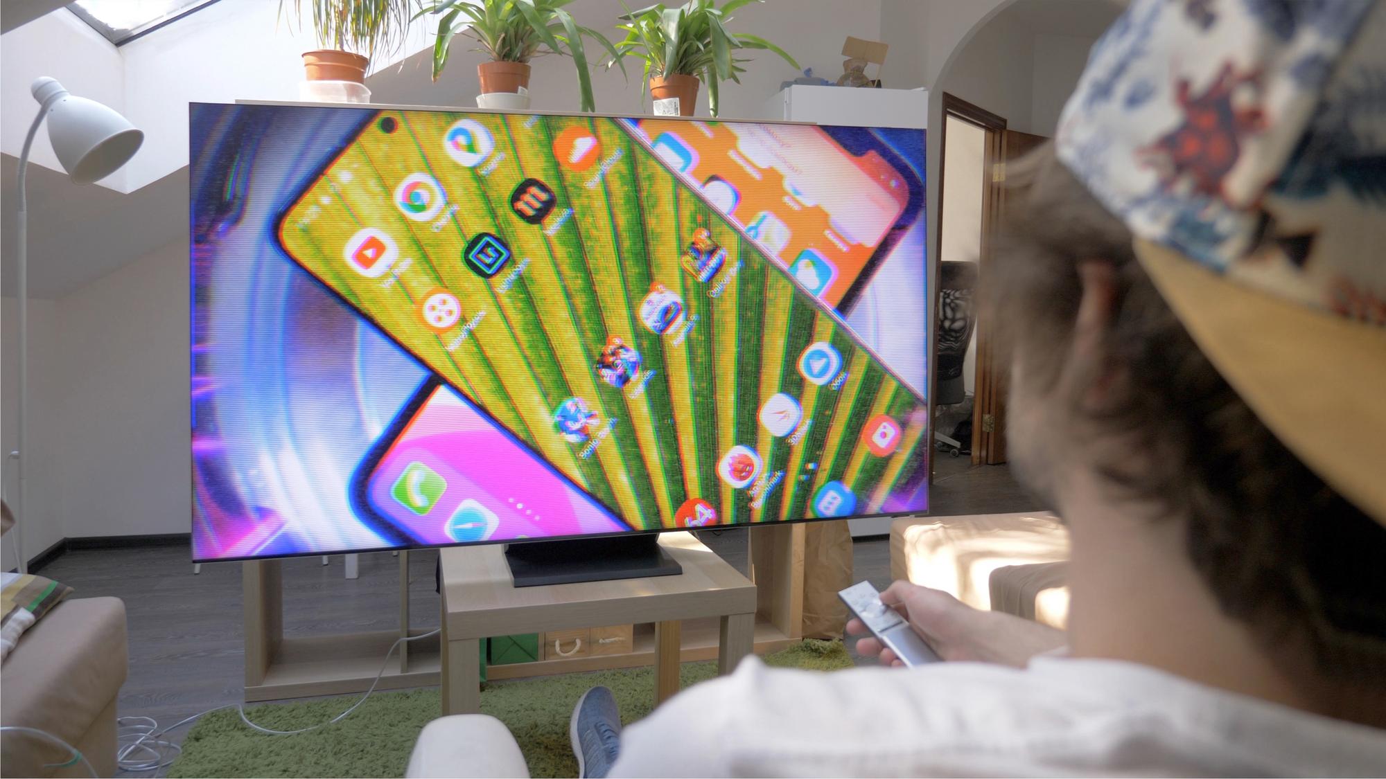 TVs com tela QLED não costumam ter problema com efeito burn-in. (Imagem: Mr.Mikla/Shutterstock)