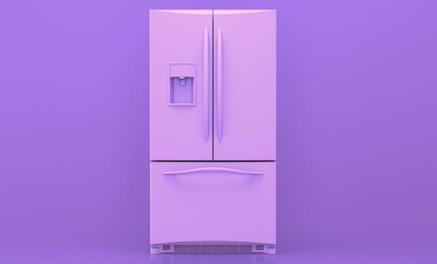 A geladeira French Door Inverse possui 3 portas. (Imagem: Reprodução/Shutterstock)