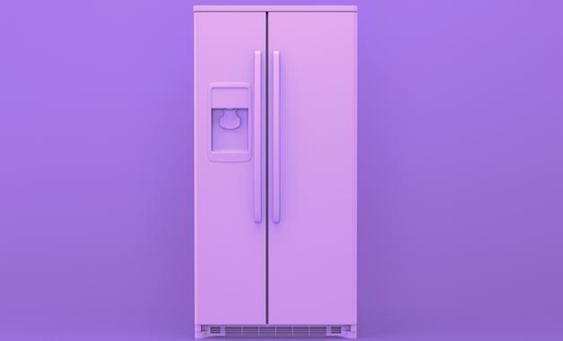 A geladeira Side by Side é um modelo de duas portas, lado a lado. (Imagem: Reprodução/Shutterstock)