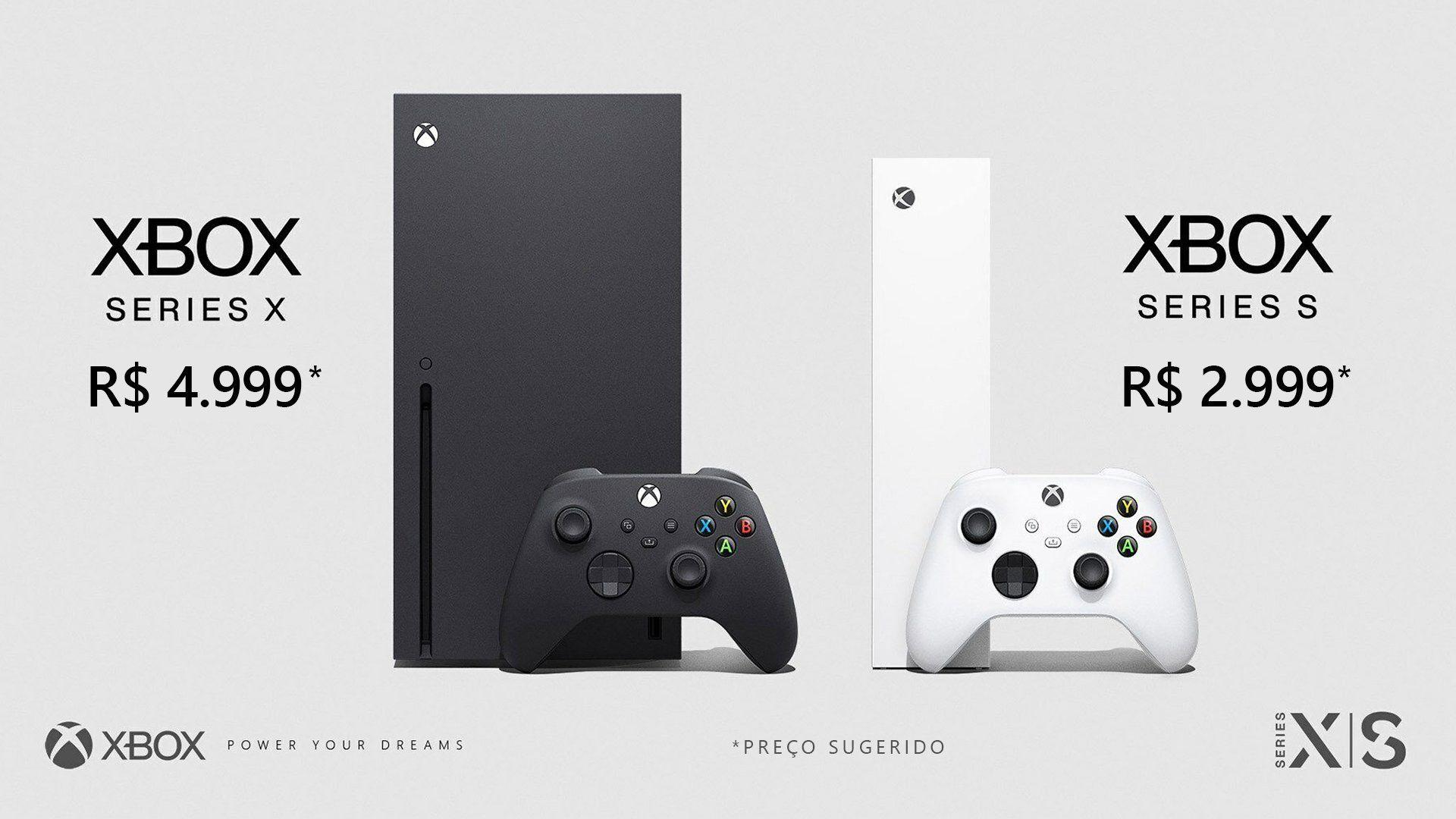 Novos consoles chegam ao Brasil em novembro (Divulgação/Microsoft)
