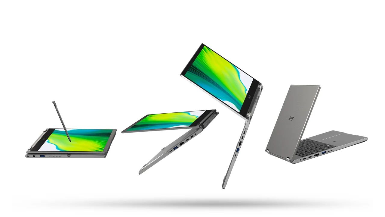 Design do Acer Spin 3. (Foto: Divulgação/Acer)