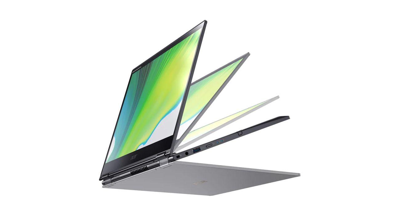 Design do Acer Spin 5. (Foto: Divulgação/Acer)